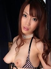 Kaede Kyoumoto wildest solo nude action