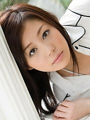 Takami Hou lovely Asian teen is sexy and cute