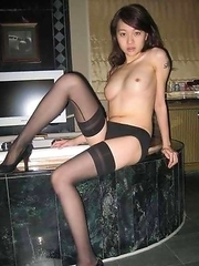 Nice gallery of a group of kinky sexy Oriental GFs