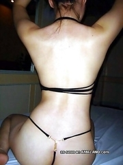 Nice collection of an amateur gorgeous babe getting fucked